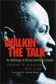 WALKIN' THE TALK : An Anthology of African American Studies