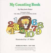 MY COUNTING BOOK by Marybob Baker