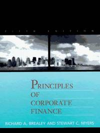 Principles of Corporate Finance (MCGRAW HILL SERIES IN FINANCE)