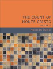 image of The Count of Monte Cristo, Volume 2