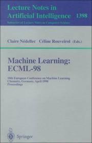 MACHINE LEARNING: ECML-98