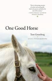 One Good Horse.