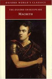 image of The Tragedy of Macbeth (Oxford World's Classics)
