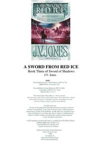 image of A Sword from Red Ice(BOOK THREE OF SWORD OF SHADOWS)