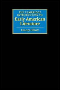 The Cambridge Introduction to Early American Literature (Cambridge Introductions to Literature)