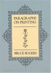 Paragraphs on Printing