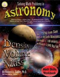 Solving Math Problems in Astronomy, Grades 5-8+