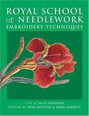 Royal School of Needlework Embroidery Techniques