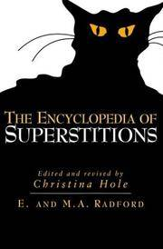 THE ENCYCLOPEDIA OF SUPERSTITIONS.