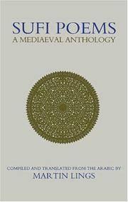 Sufi Poems a Mediaeval Anthology