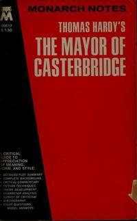 Thomas Hardy's the Mayor of Casterbridge by Thomas Hardy - Paperback - 1988-08 - from Ergodebooks and Biblio.com