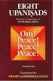 Eight Upanishads, with the Commentary of Sankara, Vol. II