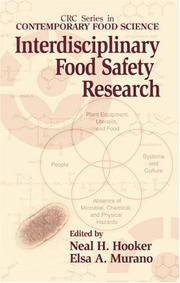Interdisciplinary Food Safety Research (Contemporary Food Science)