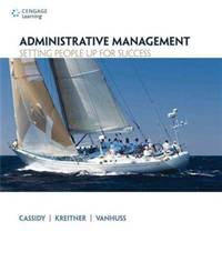 Administrative Management: Setting People Up for Success