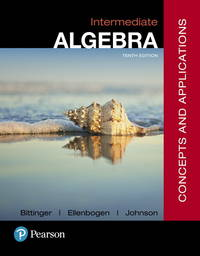 image of Intermediate Algebra: Concepts and Applications