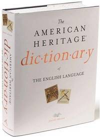 The American Heritage Dictionary of the English Language by American Heritage Dictionary - from Better World Books  and Biblio.com