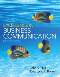 image of Excellence in Business Communication (11th Edition)