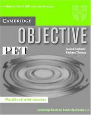 OBJECTIVE PET: WORKBOOK WITH ANSWERS (PB 2003)