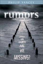 image of Rumors of Another World: What on Earth Are We Missing?