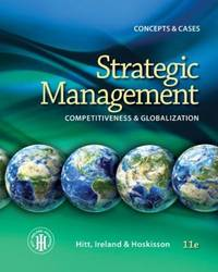 image of Strategic Management: Competitiveness and Globalization- Concepts and Cases, 11th Edition