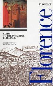 Florence Guide to the Principal Buildings: History of Architecture and Urban Forms