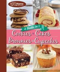 4 Cookbooks in 1: Cookies, Cakes, Brownies, Cupcakes