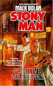 Punitive Measures (Mack Bolan : Stony Man #33) by  Jerry  Don (creator); VanCook - Paperback - First Paperback Printing - 1998 - from Second Chance Books & Comics (SKU: 067332)