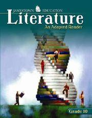 Jamestown Education, Adapted Literature, Student Edition Grade 10 (JT ADAPTED LITERATURE SERIES)