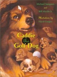 CADDIE THE GOLF DOG.