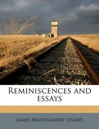 image of Reminiscences and essays