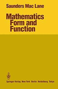 Mathematics: Form and Function