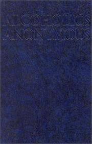 image of Alcoholics Anonymous Big Book