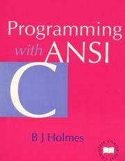 Programming with ANSI C