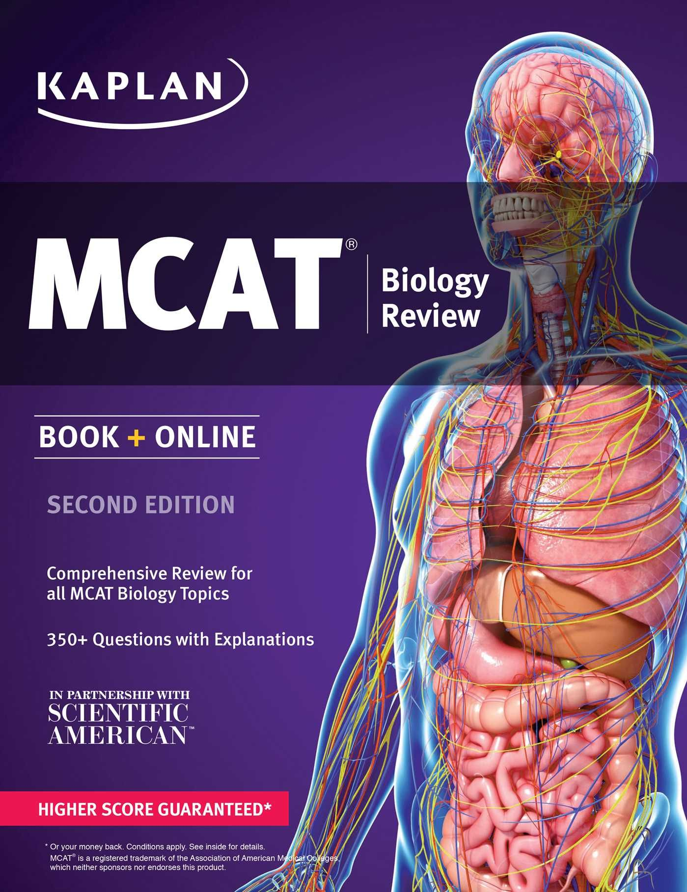 MCAT Biology Review 2019-2020: Online + Book by Kaplan ...