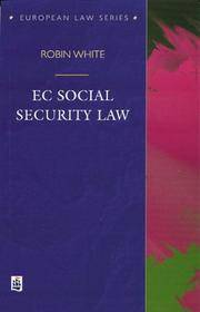 EC Social Security Law (European Law Series)