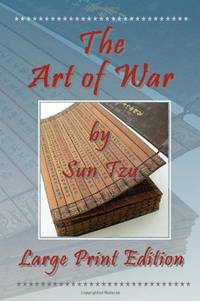 image of The Art of War by Sun Tzu - Large Print Edition