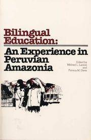 Bilingual Education: An Experience in Peruvian Amazonia