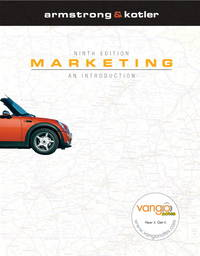 image of Marketing: An Introduction and MyMarketingLab Package, 9th Edition