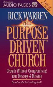 image of Purpose-Driven® Church, The