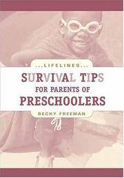 Survival Tips for Parents of Preschoolers