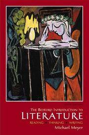 image of Bedford Introduction to Literature: Reading, Thinking, Writing