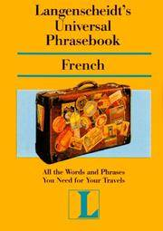 Langenscheidt's Universal Phrasebook - French
