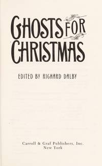 Ghosts For Christmas
