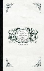 Marco Paul's Voyages  Travels