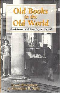 Old Books in the Old World