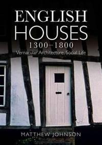 image of English Houses, 1300-1800