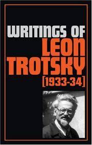 image of Writings of Leon Trotsky: (1933-34)