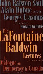 The La Fontaine Baldwin Lectures