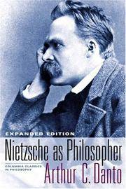 Nietzsche as Philosopher (Columbia Classics in Philosophy) by  Arthur C Danto - Hardcover - Expanded ed - 2005-03-02 - from Blind Pig Books (SKU: 17-03-01-TRSH-22590-MJ)