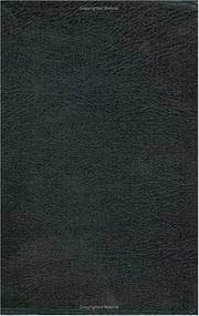 HCSB Large Print Ultrathin Reference Bible, Black Bonded Leather